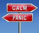 Yvonne's post calm panic