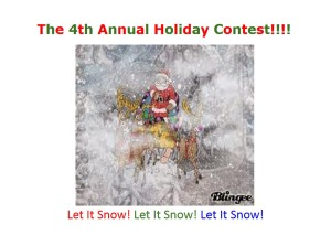Holiday Contest 3