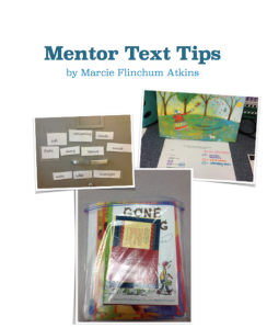 Mentor Text Ebook Cover Screenshot