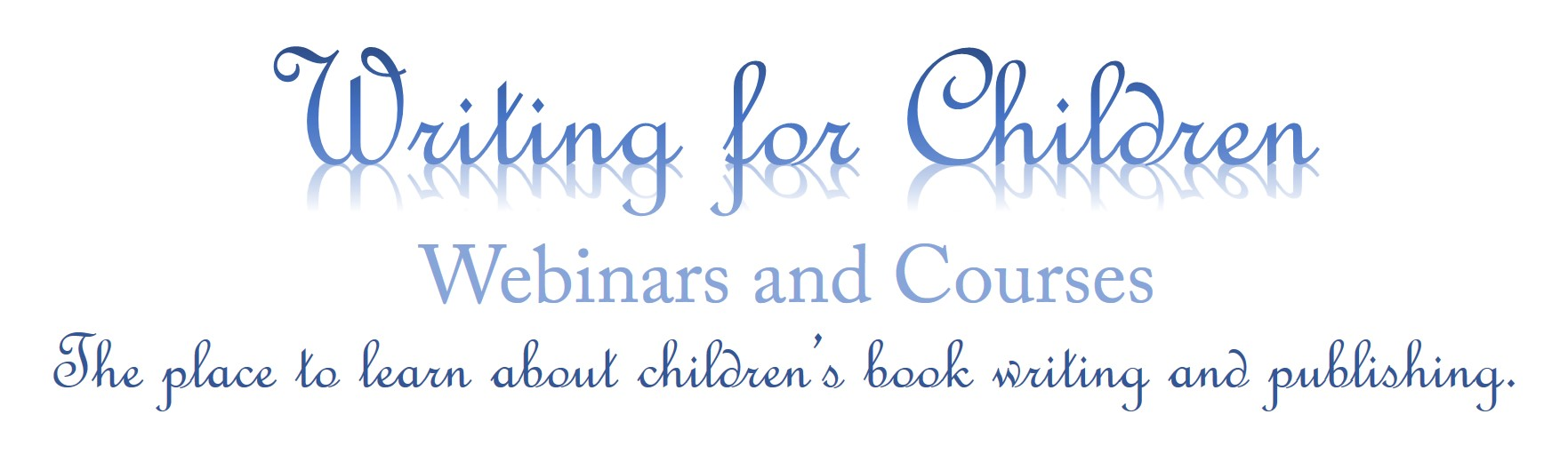 writing for children webinars and courses