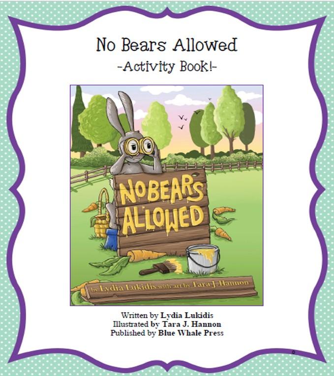 Actibity book cover