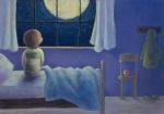 boy moon pastel
