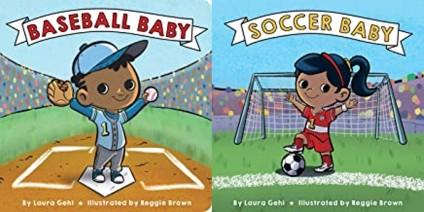 Baseball soccer baby